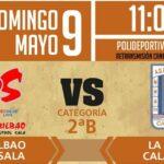 La Unión Calatayud se enfrentará este próximo domingo al Gora Bilbao para seguir luchando por la permanencia