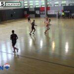 Victoria de la Unión Calatayud frente al Gora Bilbao FS por 3 goles a 5
